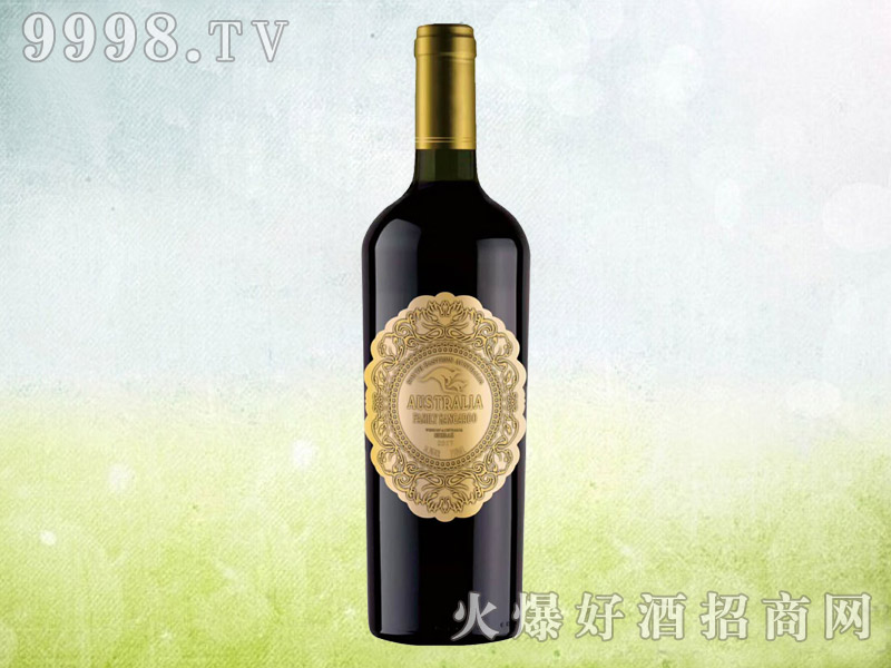 澳族酒庄袋鼠金钻干红葡萄酒