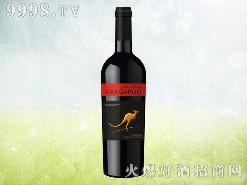 澳族酒庄袋鼠干红葡萄酒
