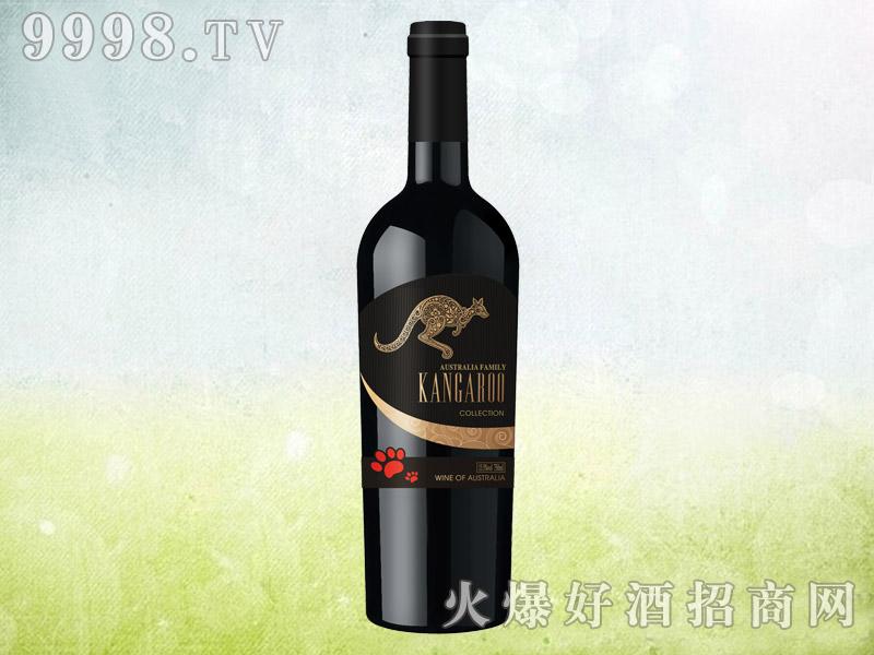 澳族袋鼠干红葡萄酒