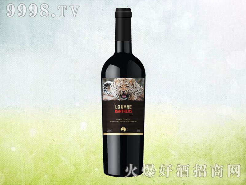 澳洲罗浮黑豹干红葡萄酒