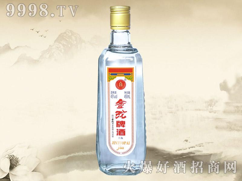 金砣牌酒方瓶
