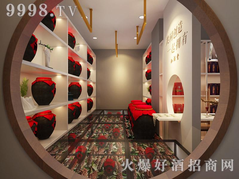 台源䣽酒装修效果・走廊