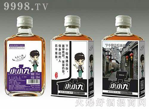 小小九红枣枸杞配制酒(黑标)35度100ml