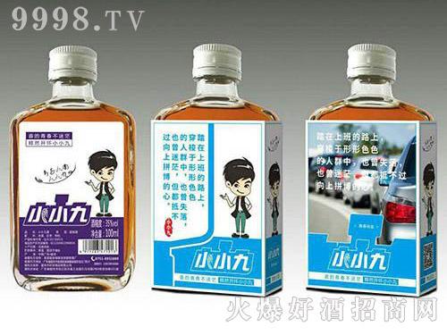 小小九红枣枸杞配制酒(浅蓝标)35度100ml