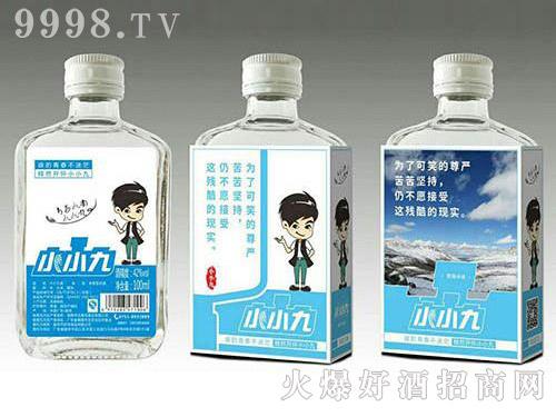 小小九白酒(浅蓝标)42度100ml