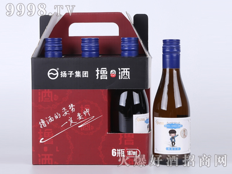 扬子集团撸点王子酒礼盒