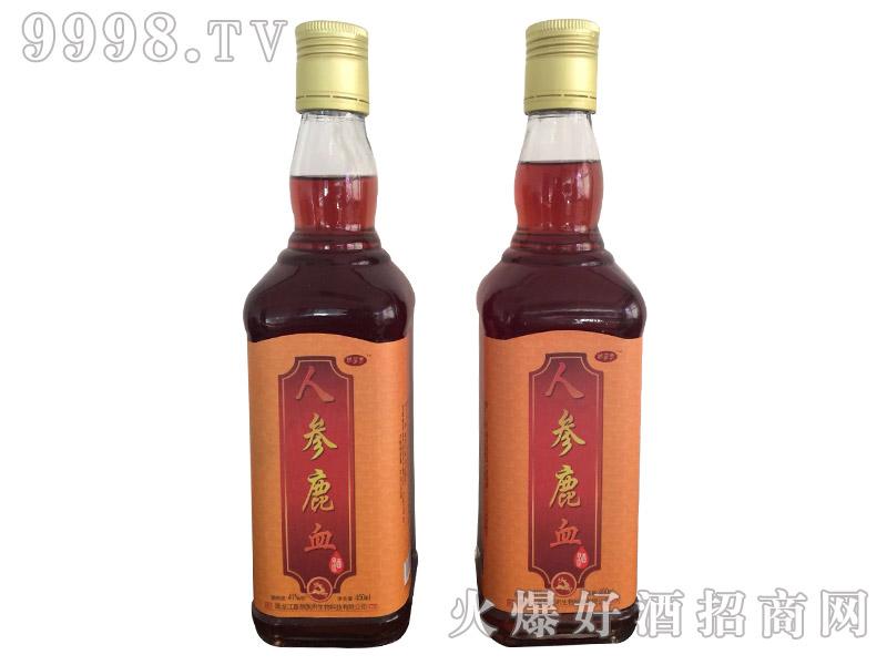 人参鹿血酒41度450ml