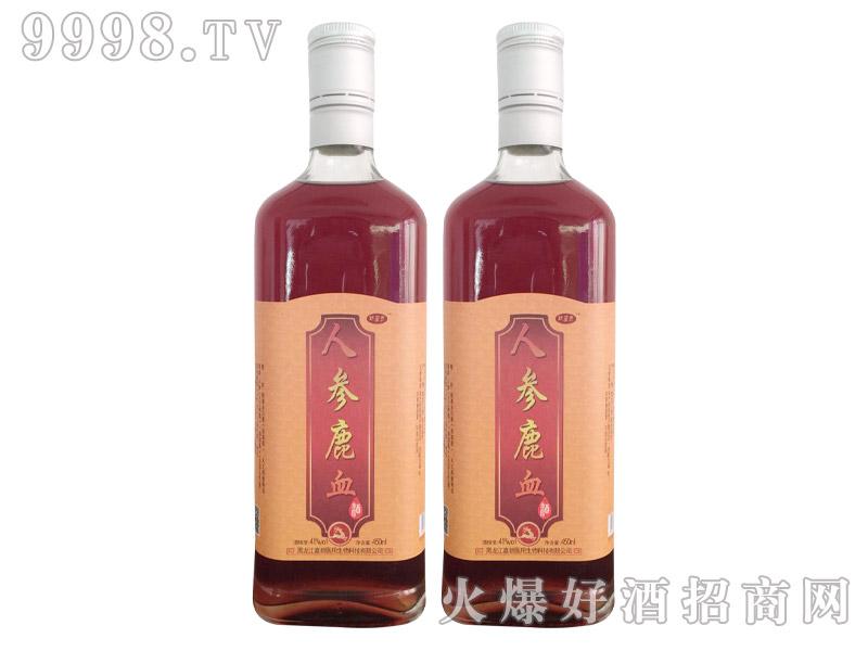 人参鹿血酒
