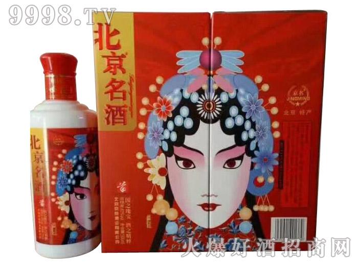 京名脸谱酒(花旦)