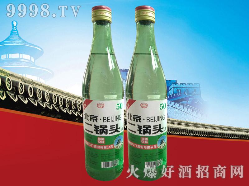 新华门北京二锅头升级版56°500ml(绿瓶)
