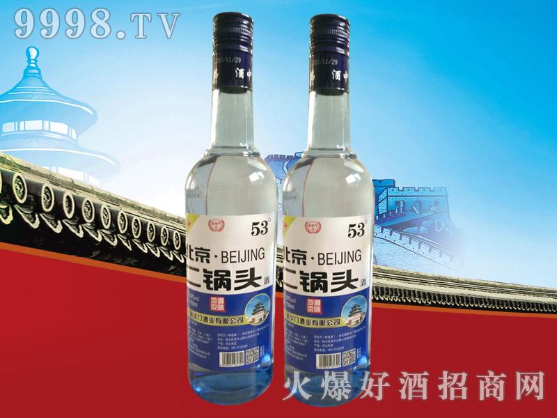 新华门北京二锅头升级版53°750ml