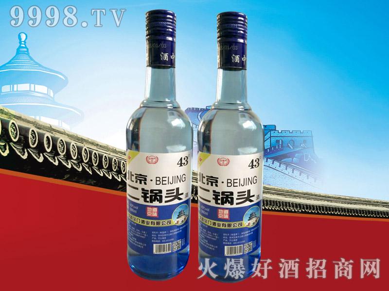 新华门北京二锅头升级版43°500ml