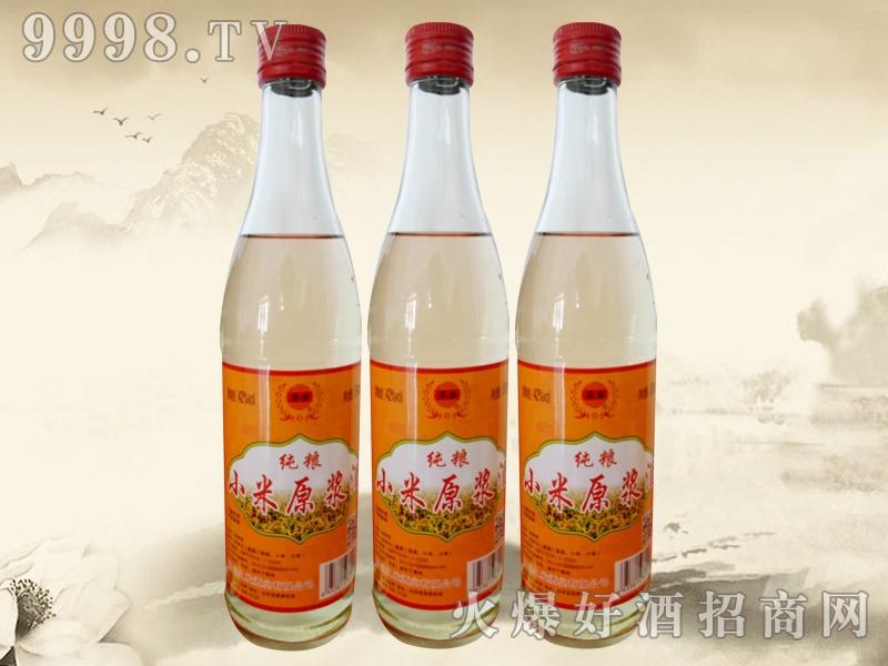 纯粮小米原浆酒500ml