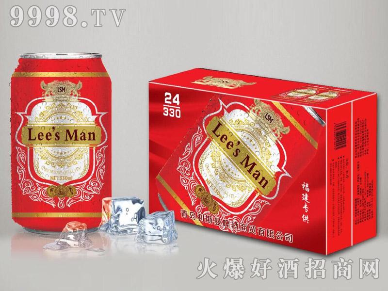 利斯曼啤酒330ml易拉罐
