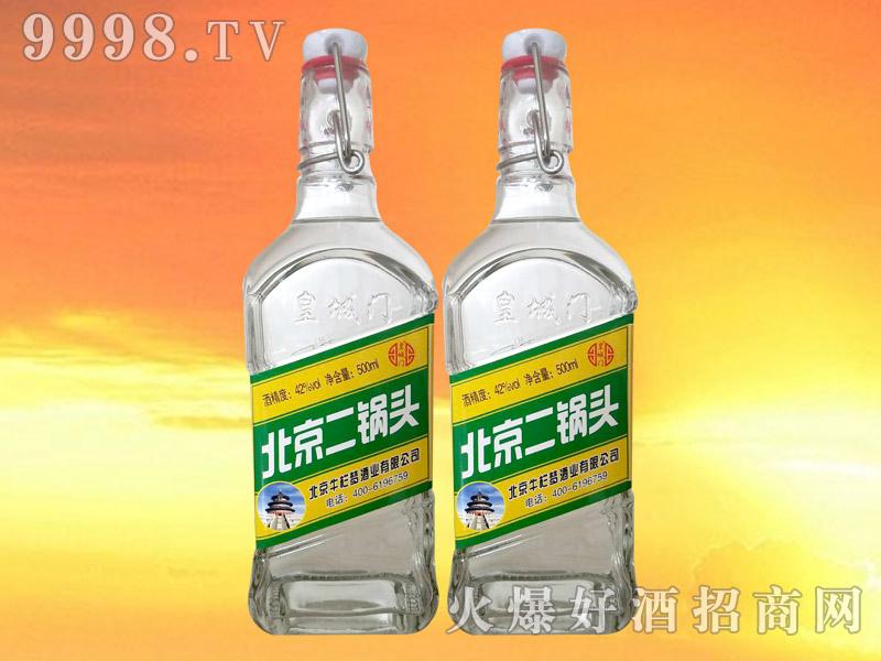 皇城门北京二锅头42°500ml(绿标)