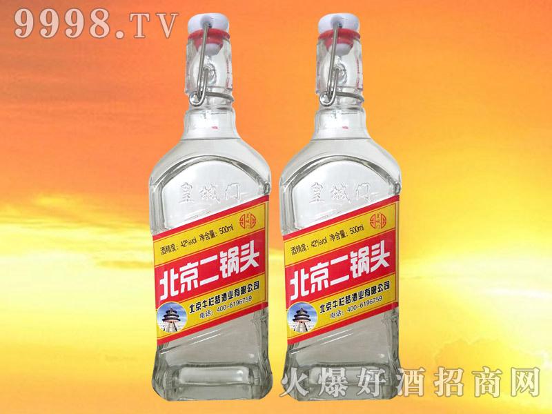 皇城门北京二锅头42°500ml(红标)