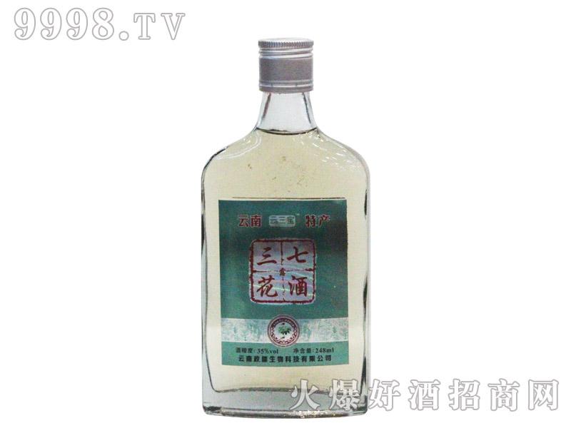 云三宝三七花酒248ml