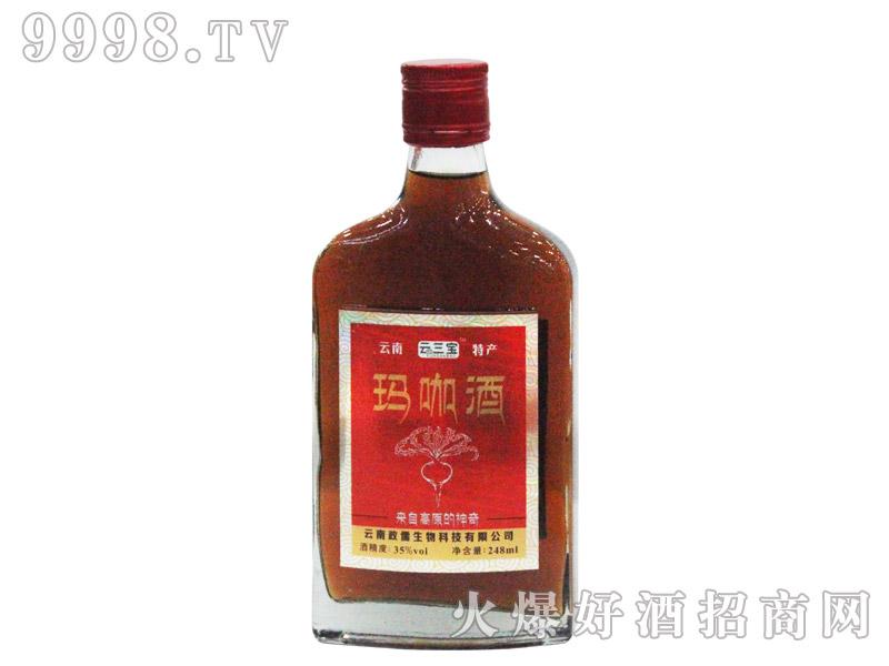 云三宝玛咖酒248ml