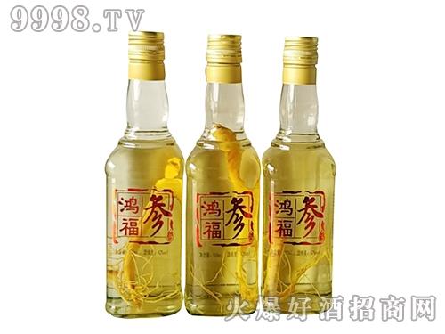 鸿福人参酒500ml