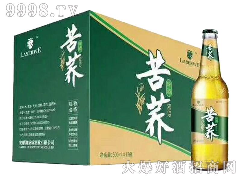 澜圣威苦荞啤酒・经典500ml瓶装(箱)