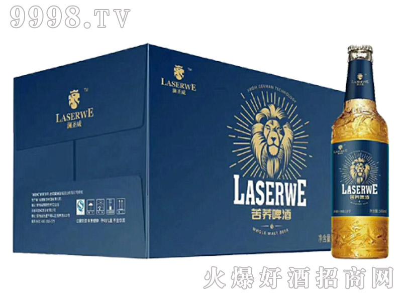 澜圣威活力苦荞啤酒500ml瓶装新款(箱)