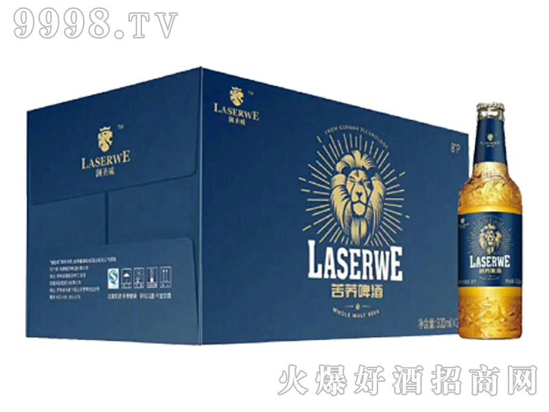 澜圣威活力苦荞啤酒320ml瓶装新款(箱)