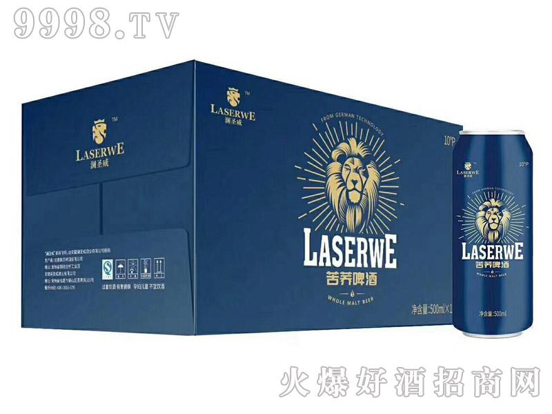 澜圣威活力苦荞啤酒500ml罐装新款(箱)