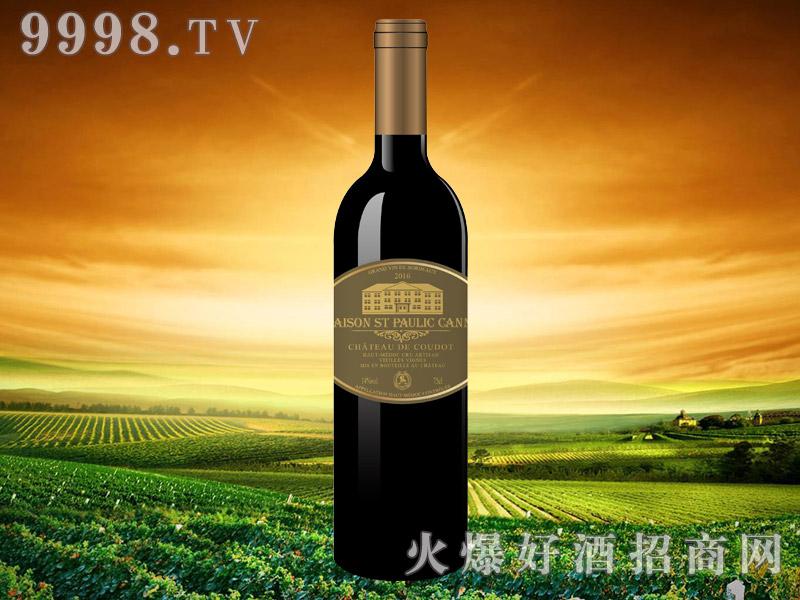 圣堡罗克庄园可妮干红葡萄酒-红酒招商信息
