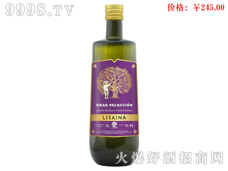 丽生精选多果橄榄油-西班牙丽生伊比利亚有限公司