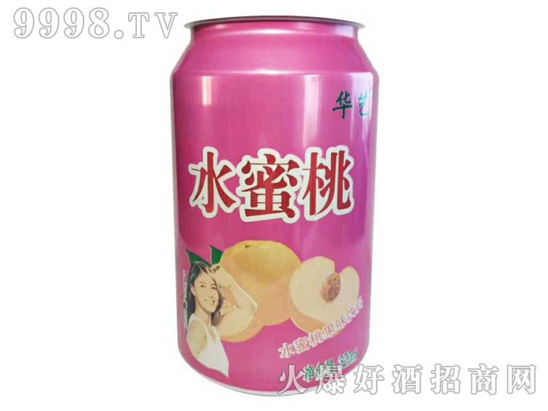 水蜜桃果味碳酸饮料500ml