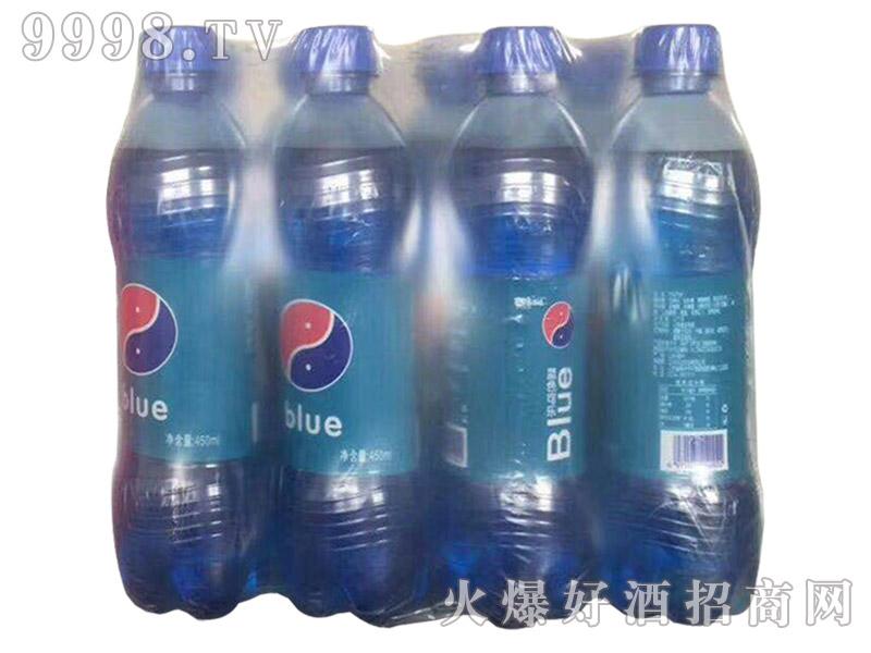 蓝色可乐500ml