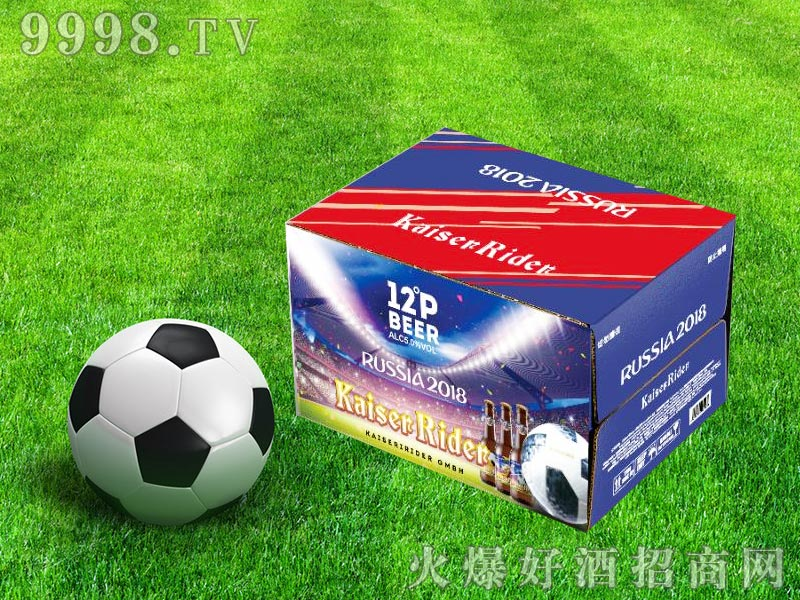 凯撒骑士足球系列箱装