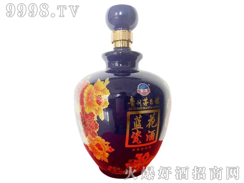 茅台镇蓝花瓷坛子酒