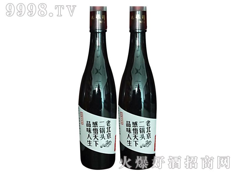 一担粮白标二锅头酒42度480ml×12瓶