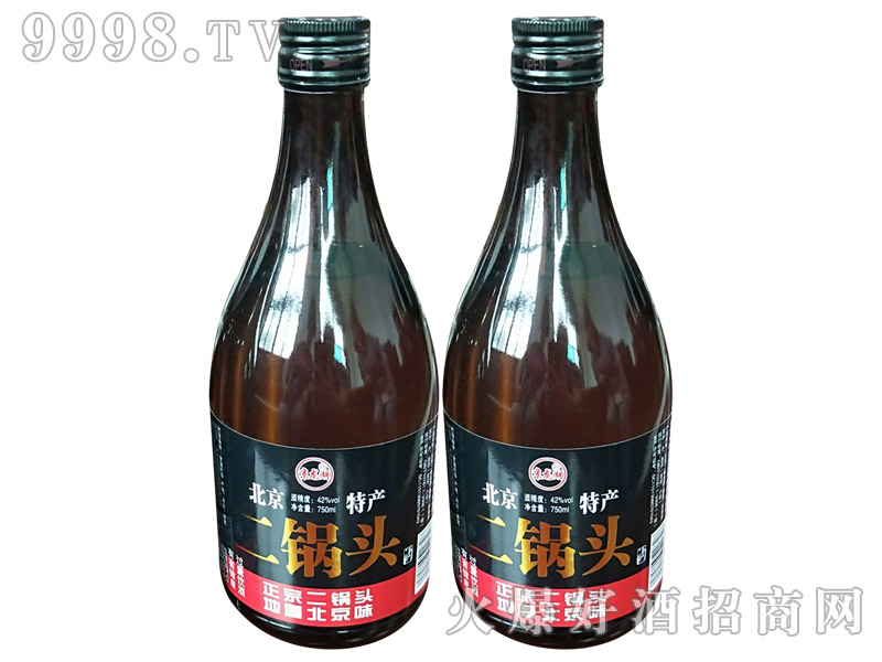牛栏泉二锅头酒42度750ml×12瓶