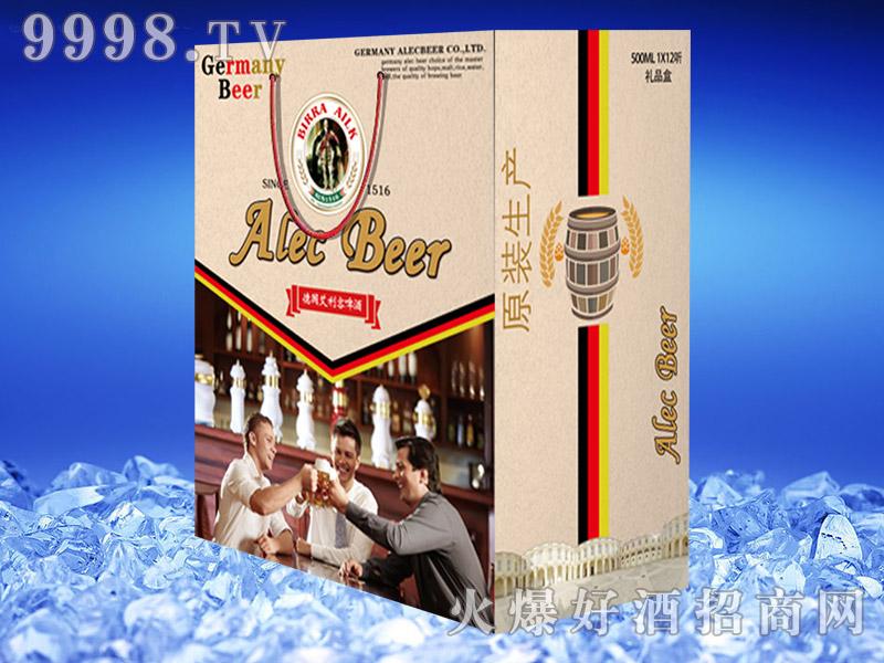 德国艾利客啤酒礼盒500ml×12听(原装生产)