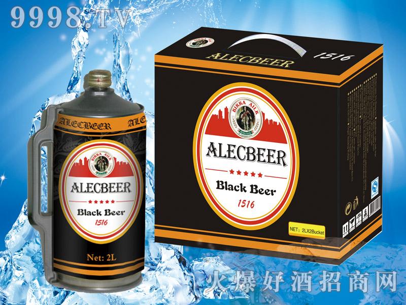 艾利客黑啤2L