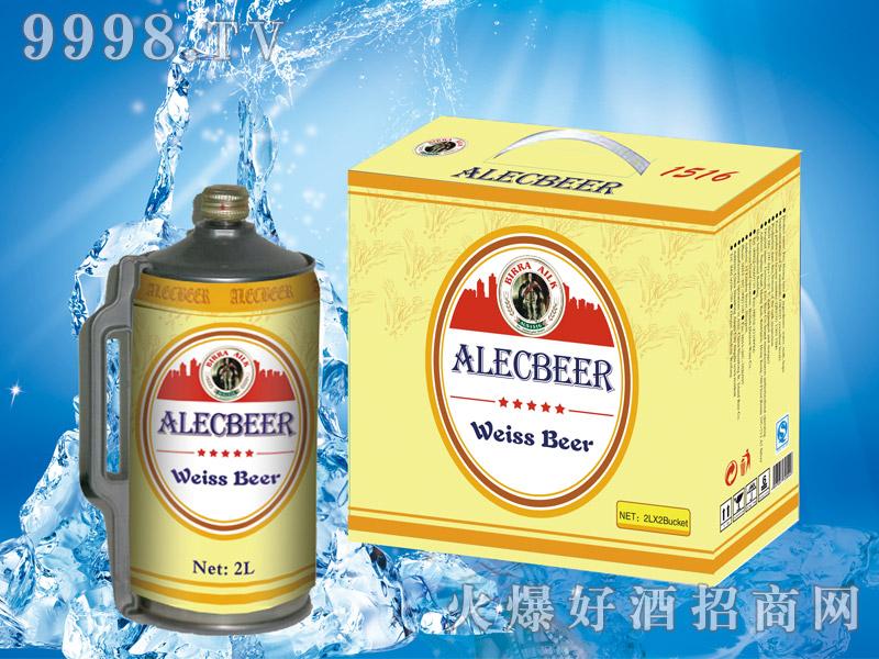 艾利客白啤2L