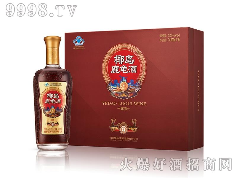 椰岛鹿龟酒(礼盒装)600ml