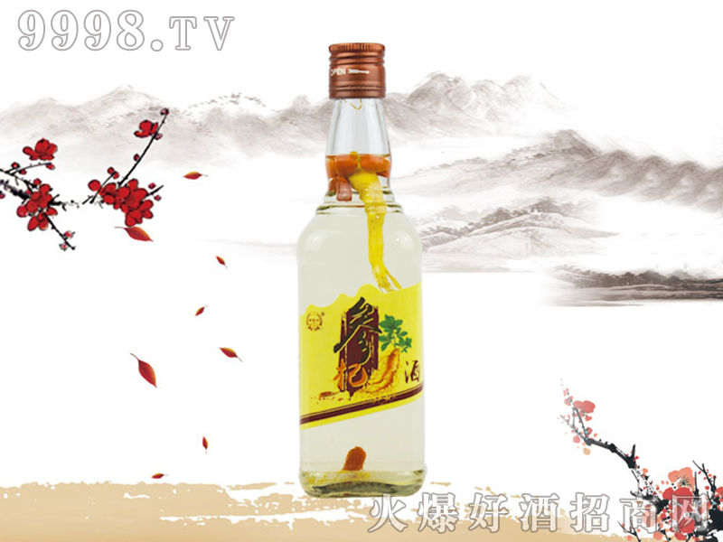 郑家坊参杞酒450ml