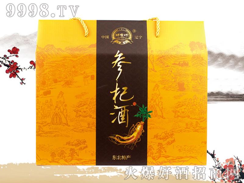 郑家坊参杞酒礼盒248ml