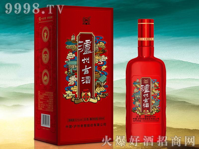 泸州古酒-共传品酿