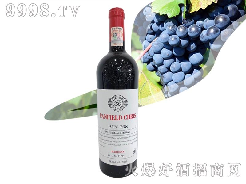 奔富克鲁斯768巴罗萨谷珍藏西拉子干红葡萄酒