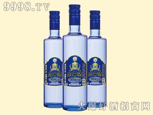 牟平牌瓜干酒蓝瓶