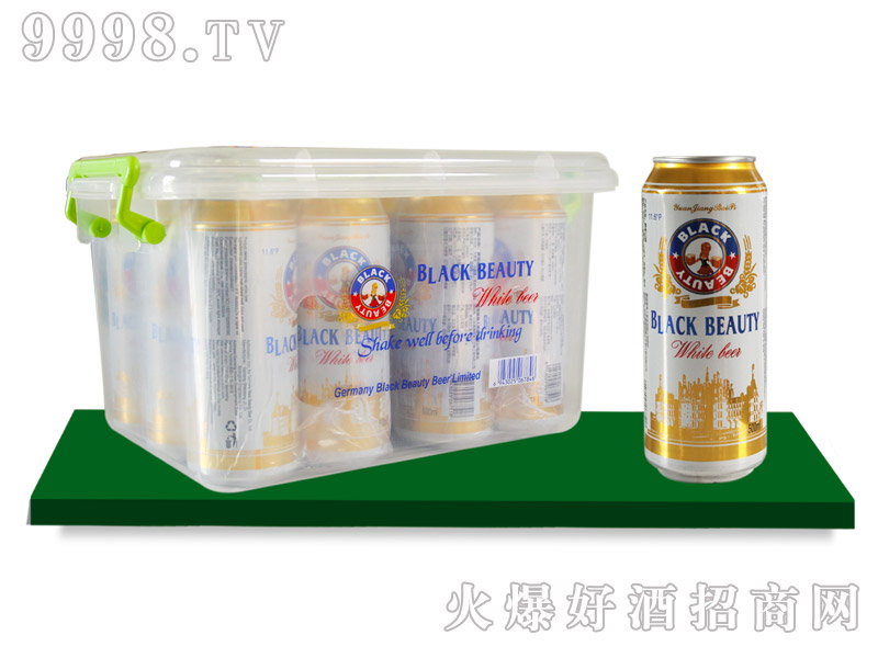 黑美人原浆白啤500mlx12罐