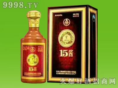 五粮液15酱年份礼盒(50版)