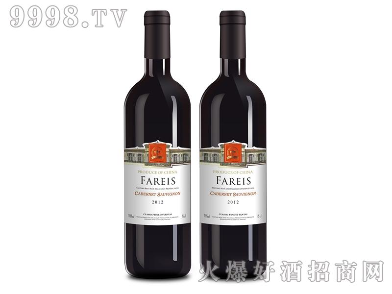 法瑞斯干红葡萄酒2012