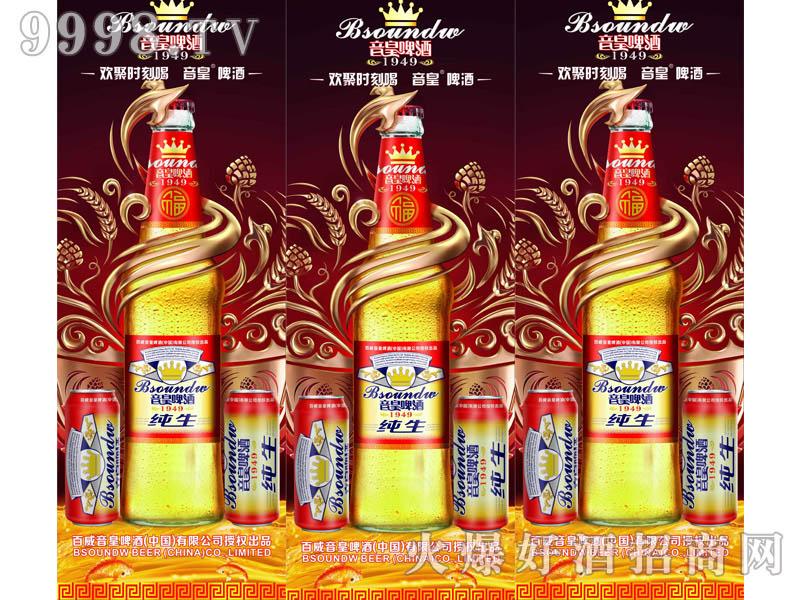 音皇纯生啤酒(欢聚时刻喝・海报)