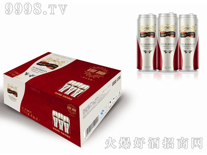 德国锦狮纯麦芽啤酒500MLx12支