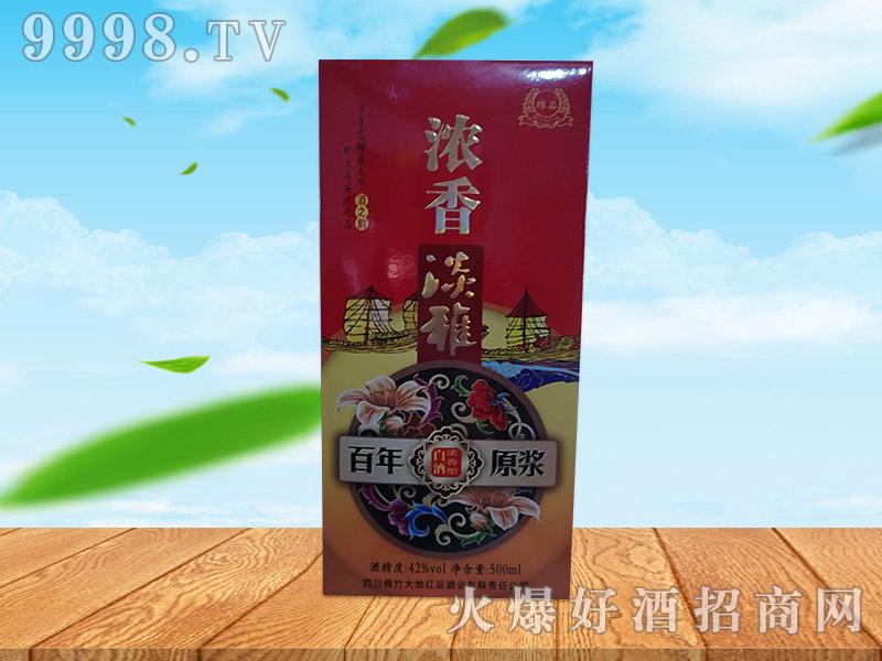 浓香淡雅百年原浆酒500ml